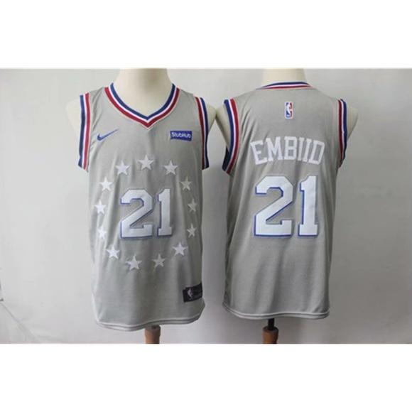best sneakers 4c4cf 0d4a7 Philadelphia 76ers Joel Embiid Jersey NWT